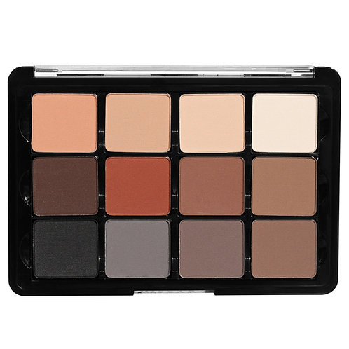 Viseart VPE01 Neutral Mattes 12 Pan Eyeshadow Palette