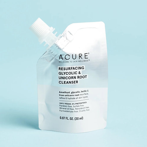Acure Resurfacing Glycolic & Unicorn Root Cleanser (mini)