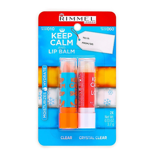 Rimmel Keep Calm and Lip Balm Duo Pack