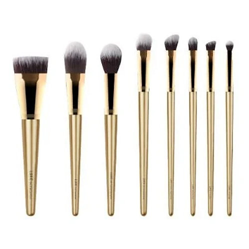 Luxie Glitter and Gold Brush Set