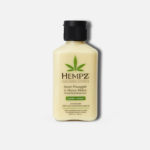 Hempz Herbal Body Moisturizer, Sweet Pineapple & Honey Melon (travel size)