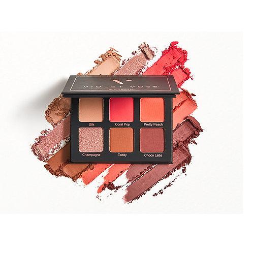 Violet Voss Coral Pop Eyeshadow Palette