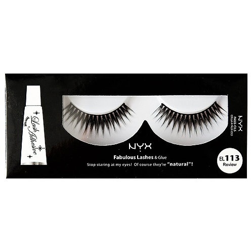 NYX Fabulous Lashes and Glue EL113 Review
