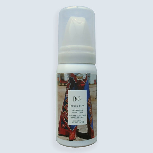 R+Co Rodeo Star Thickening Style Foam (travel size)