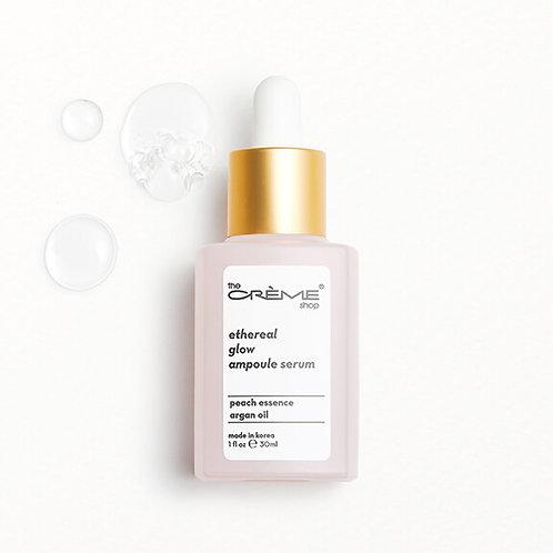 The Creme Shop Ethereal Glow Ampoule Serum - Crèmecoction Peach + Argan Oil