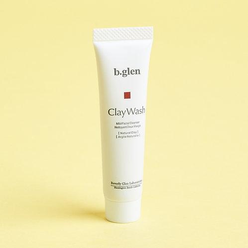 B Glen Clay Wash Mild Facial Cleanser (mini)