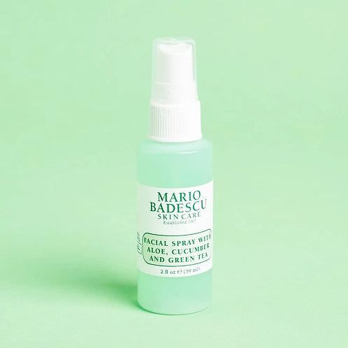 Mario Badescu Facial Spray with Aloe, Cucumber & Green Tea (mini)