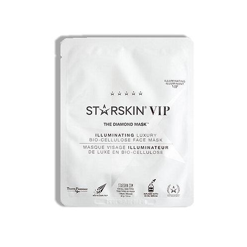 Starskin VIP Diamond Mask Bio-Cellulose Face Mask (1 mask)