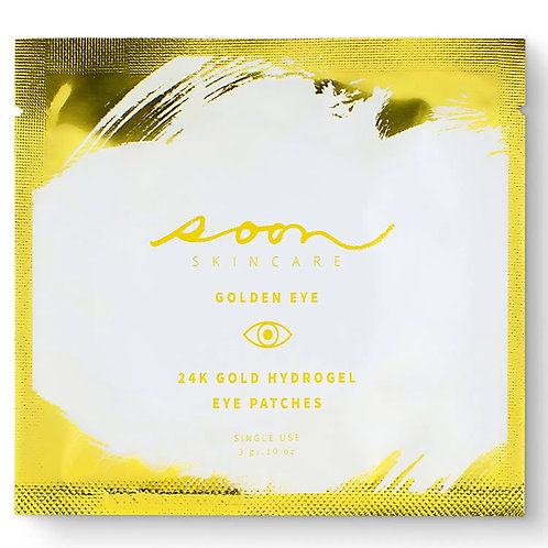 Soon Golden Eye 24k Gold Hydrogel Eye Patches (1 pair)