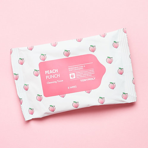 Tonymoly Peach Punch Cleansing Tissue (travel size)