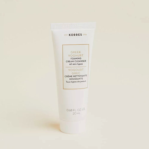 Korres Greek Yoghurt Foaming Cream Cleanser (mini)