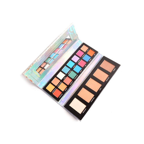 Prolux Vacay Eyeshadow and Highlighter Palette