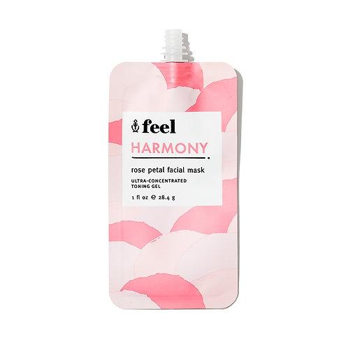 Feel Harmony Rose Petal Facial Mask (travel size)