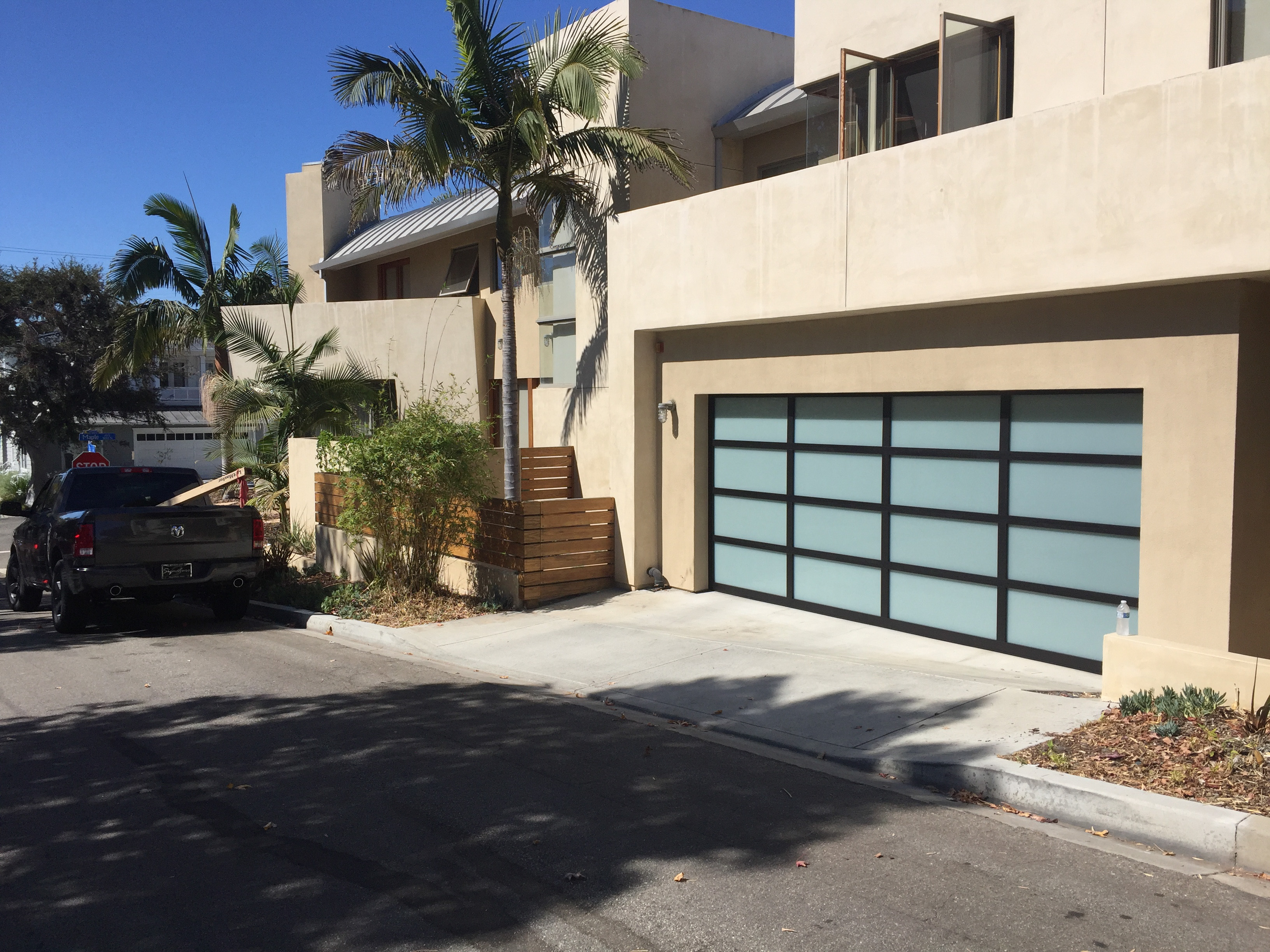 glass garage door Wayne Dalton 8800