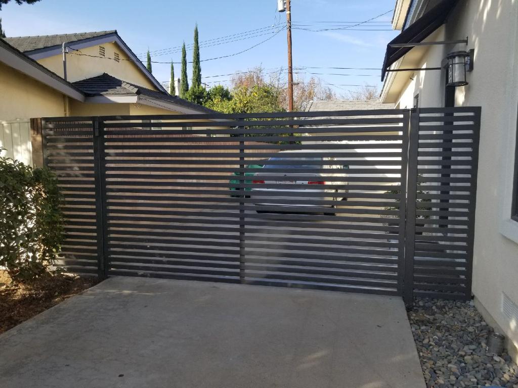 Metal Swing Gate Modern