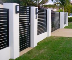 Custom Modern Gate & Fence
