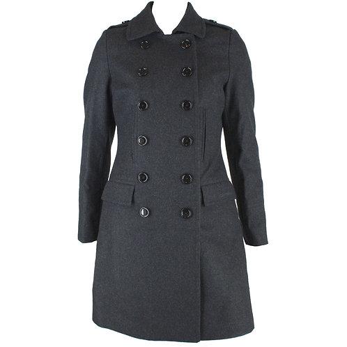 Cappotto donna Calvin Klein Jeans grigio in lana