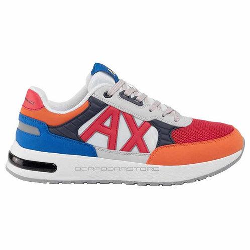 Armani Exchange Scarpe uomo Sneakers XUX052 XV205 A500 Multicolor