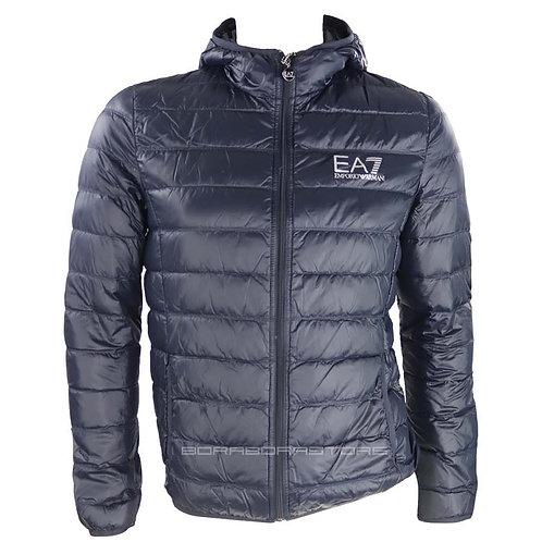 Piumino uomo Emporio Armani EA7 8NPB02 Slim Fit Blu