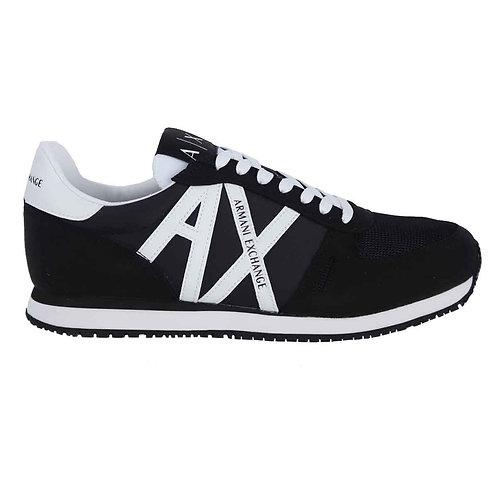 Armani Exchange Scarpe uomo sneakers XUX017 XV028 nero