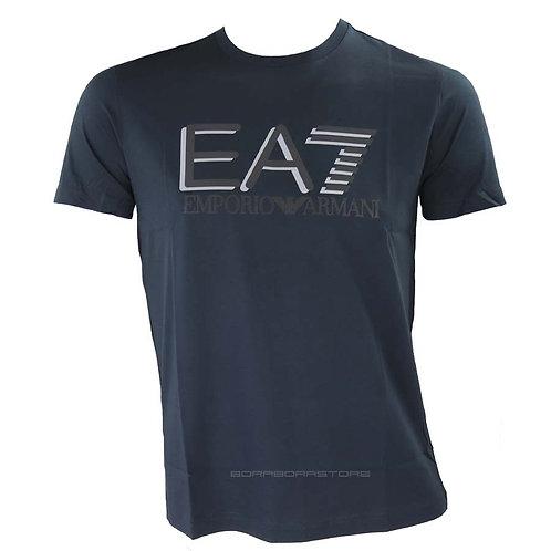 Emporio Armani EA7 T-shirt uomo mod. 3HPT81 Blu