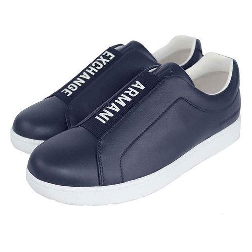 Armani Exchange Scarpe uomo sneakers XUX012 blu