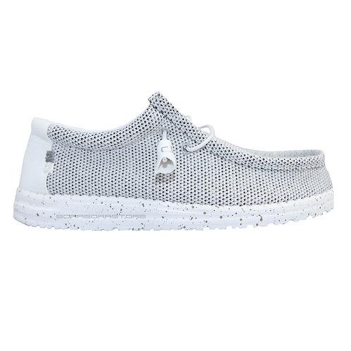 Hey Dude Scarpe Uomo Sneakers Wally Sox Stone White