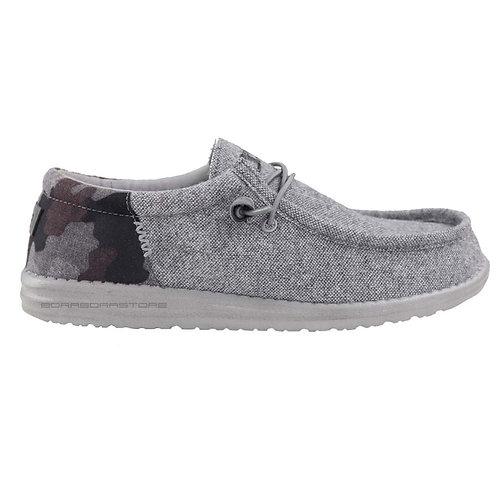 Hey Dude Scarpe Uomo Sneakers Wally WL Funk Camo Grey