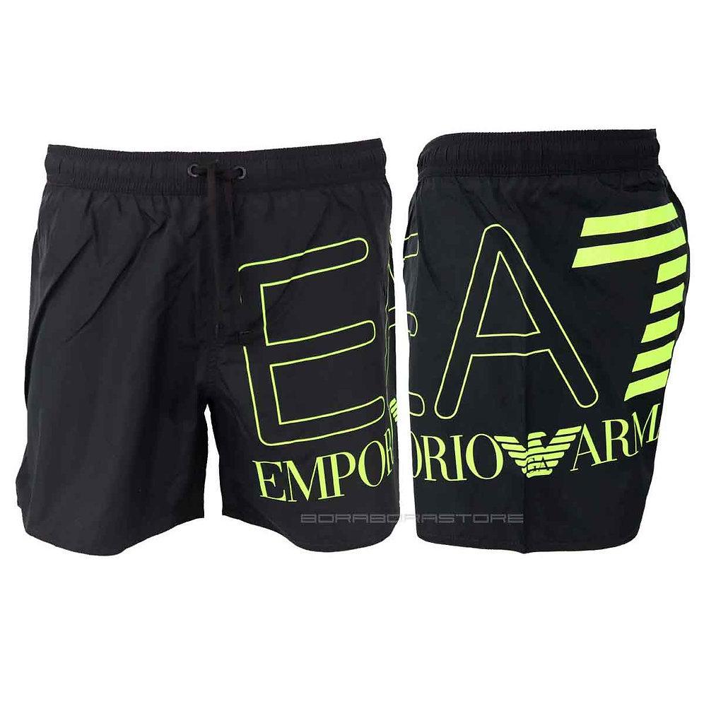 buy popular 41c11 0b48f Costume uomo Emporio Armani EA7 boxer mare 902000 9p739 nero