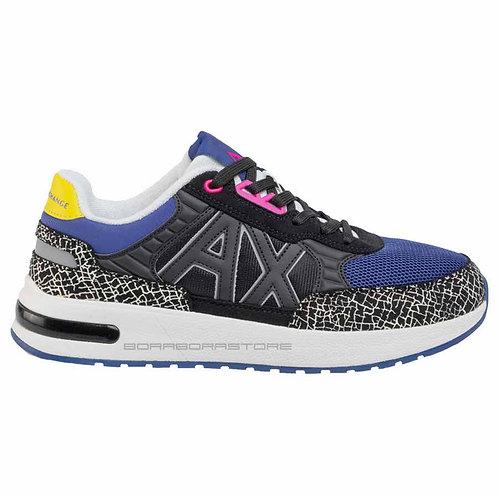 Armani Exchange Scarpe uomo Sneakers XUX052 XV205 A588 Black