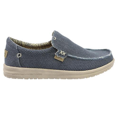 Hey Dude Scarpe Uomo Sneakers Mikka Braided  Deep Blue