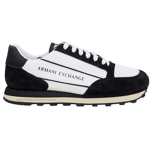 Armani Exchange Scarpe uomo sneakers XUX083 Xv263 Bianco Nero