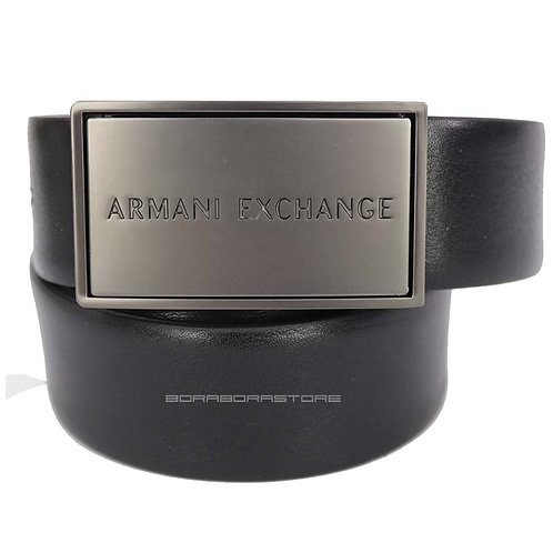 Cintura Uomo Armani Exchange reversibile 951183 CC525 16520 Nero