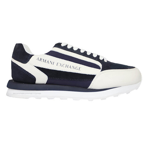 Armani Exchange Scarpe uomo sneakers XUX101 XV294 blu