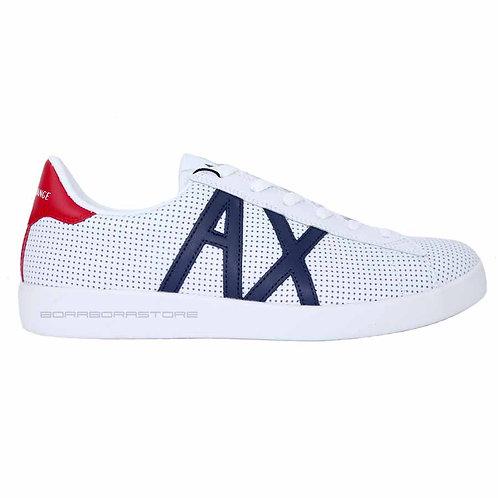 Armani Exchange Scarpe uomo sneakers XUX016 XCC60 Bianco