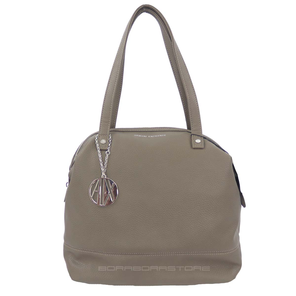 Armani Exchange Woman tote bag 942238 cc723 taupe 8054524524605  36a8956c438d3