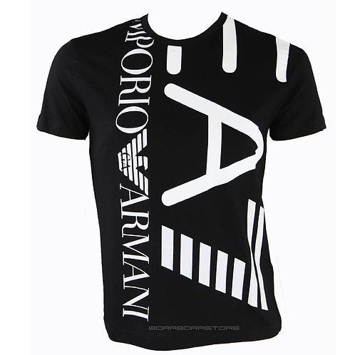Emporio Armani EA7 T-shirt uomo manica lunga 3KPT07 Pja2z Nero