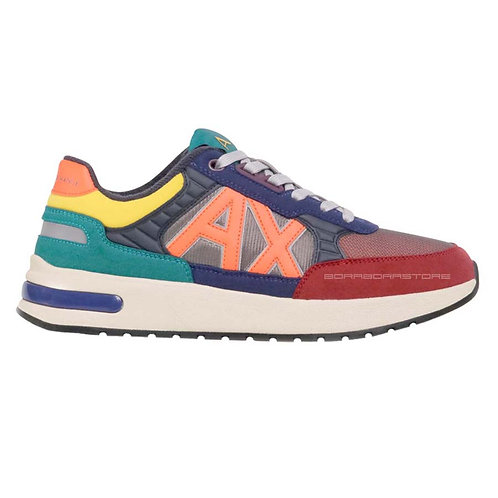 Armani Exchange Scarpe uomo Sneakers XUX052 XV205 Multicolor
