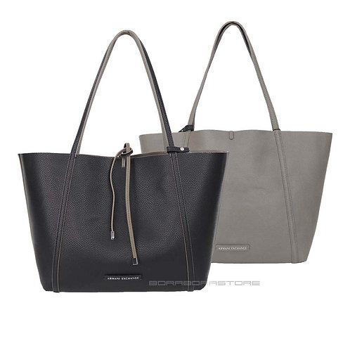 Borsa donna Armani Exchange 942034 CC703 07452 Double Face shopping