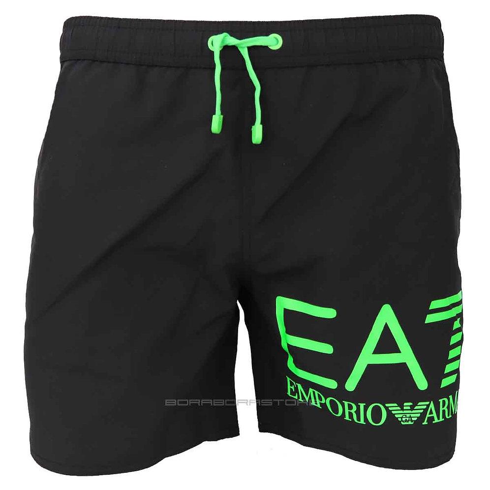 save off 96997 8919b Costume uomo Emporio Armani EA7 boxer mare 902000 9p741 nero