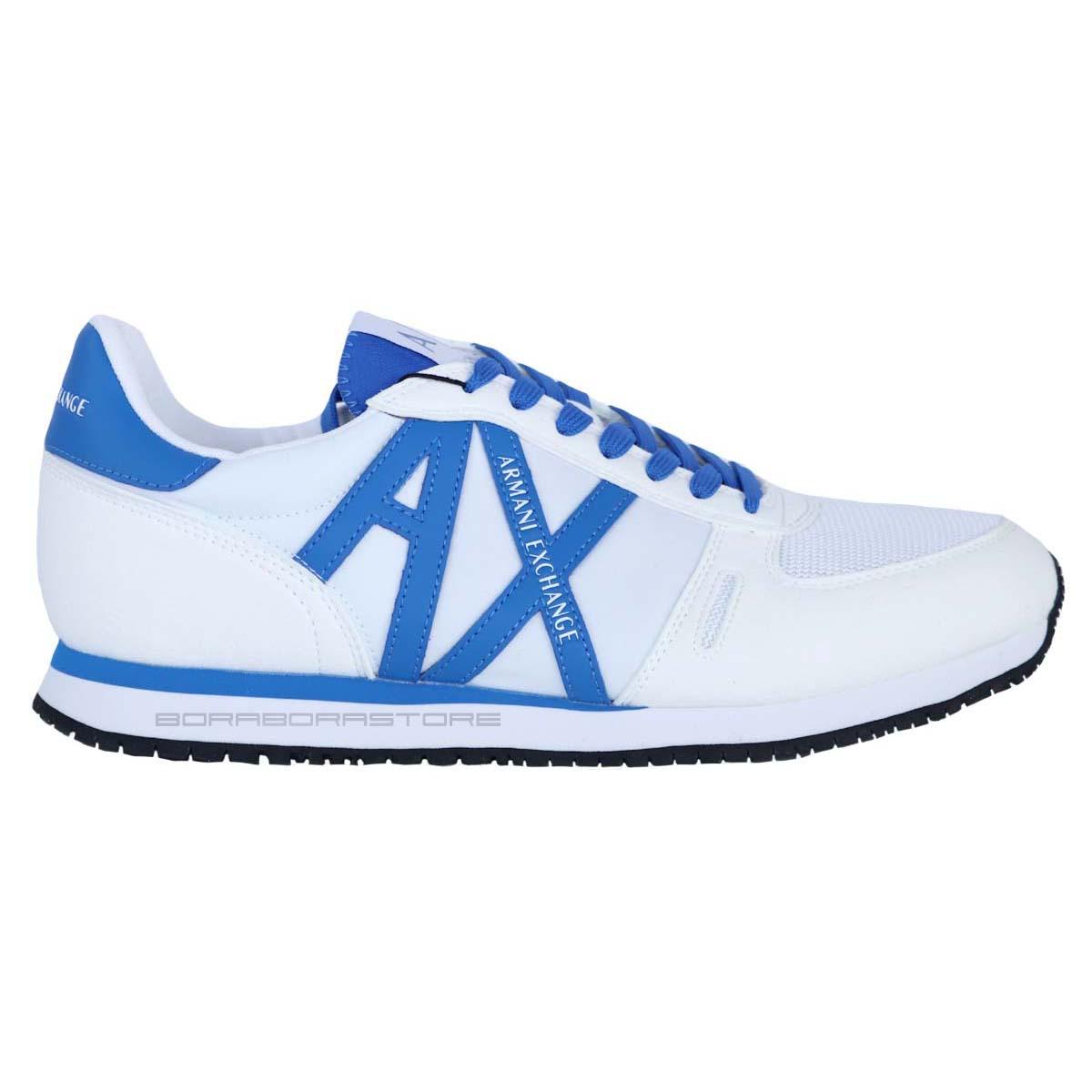 Scarpe uomo Armani Exchange sneakers XUX017 B139 bianco primavera ... 109f8933eb8