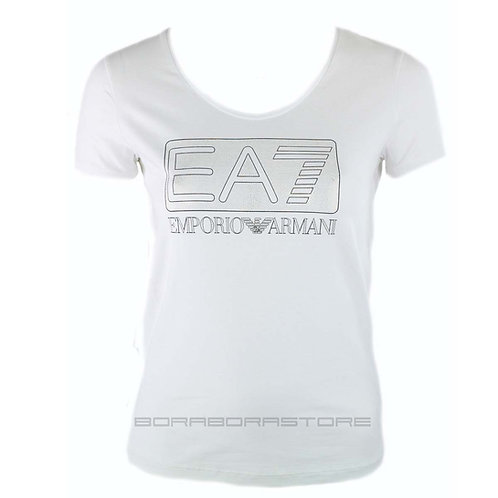 T-shirt donna Emporio Armani EA7 mod. 3YTT86