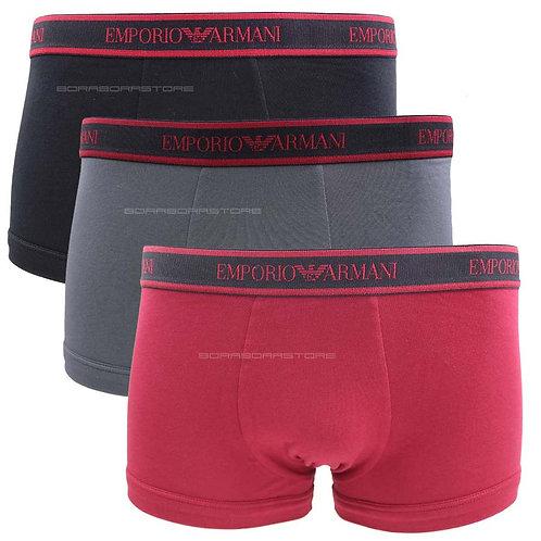 3 pack Emporio Armani Boxer uomo 111357 0a717 19775