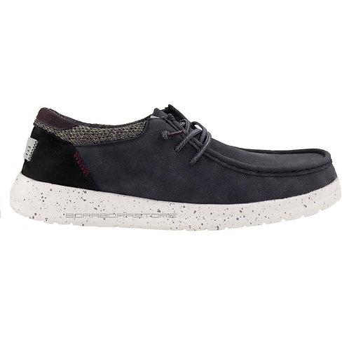Hey Dude Scarpe Uomo Sneakers Paul Black