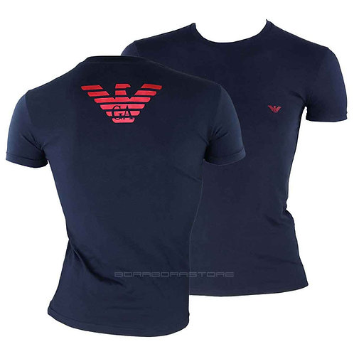 Emporio Armani T-shirt uomo 111035 9a725 blu