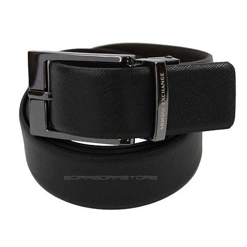Cintura Uomo Armani Exchange reversibile 951060 cc236 nero/marrone