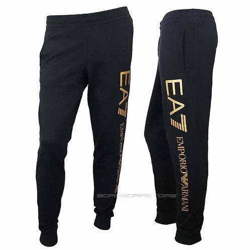 Emporio Armani EA7 Pantalone uomo 8nppb5 Pj07z Nero Oro