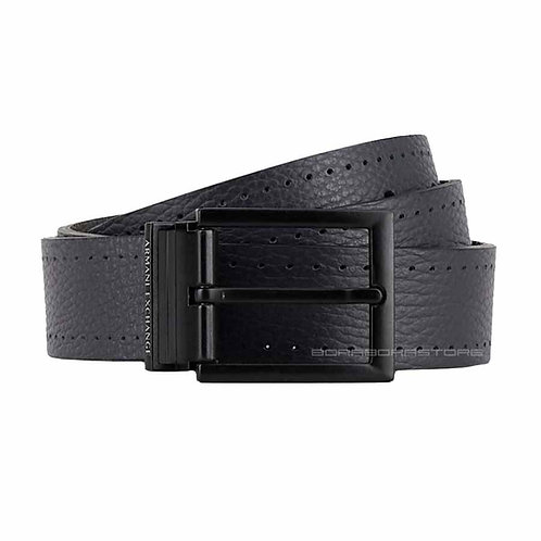 Cintura Uomo Armani Exchange reversibile 951194 9A042 nero