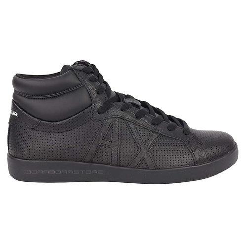 Armani Exchange Scarpe uomo sneakers XUZ007 XCC54 nero
