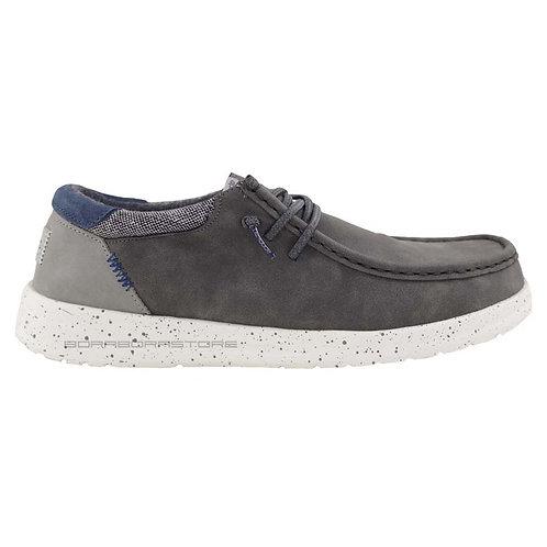 Hey Dude Scarpe Uomo Sneakers Paul Dark Grey